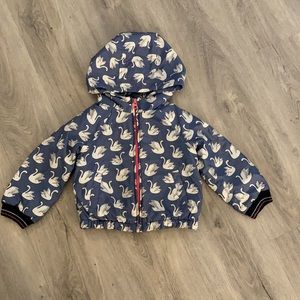 Gap toddler puffer coat size 3